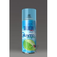 Spray Smalto all'acqua ORO, ARGENTO, adatto al polistirolo. Talken.