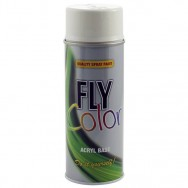 FLY COLOR, Spray Smalto Acrilico TRASPARENTE, 400ml. DUPLICOLOR