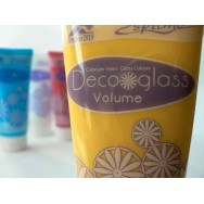 DECOGLASS VOLUME, pasta all'acqua per decorazioni. ESPRIMO. 100ml