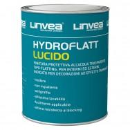 HYDROFLATT Trasparente Lucido, all'acqua. 750ml. LINVEA