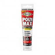 POLYMAX HIGH TACK adesivo e sigillante bianco. 435 grammi.