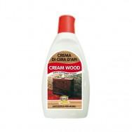 CREAM WOOD, Crema di cera d'api nutriente e antistatica, per mobili in legno, 250 ml. Madras.