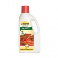 WAXOUT, decerante, detergente ammoniacale. Madras.