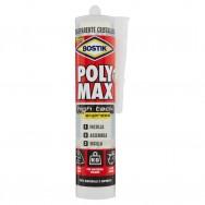POLY MAX HIGH TACK EXPRESS TRASPARENTE Cartuccia 425gr., adesivo e sigillante. BOSTIK