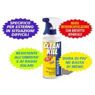 CLEANKILL, insetticida microincapsulato resistente all'esterno.